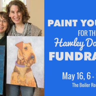 Paint Your Pet For the Hawley Dog Park